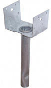 Usp Lumber 4 X 4 Elevated Post Base Structural Connector EBG44-TZ