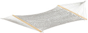 Vivere POLY20 60 in. Polyester Rope Hammock - Double White