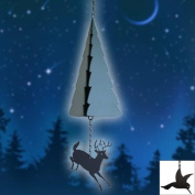 North Country Wind Bells Inc. 203.5040 Adirondack Mountains with black triangle wind catcher