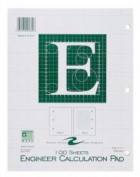 Roaring Spring Paper Products 95382 Engineering Pad - 48 Per Case
