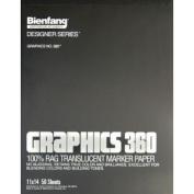 Alvin 360-2 11x14 Graphics Marker Paper