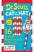 Eureka Teacher Reward Cards And Pencils, Dr. Seuss, Pack Of 16