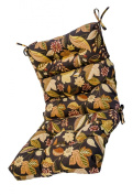 Greendale Home Fashions 4809-Timberland Outdoor High Back Chair Cushion Timberland Floral