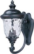 Maxim Lighting 3423WGOB Carriage House DC 20 H 2-Light Outdoor Wall Lantern - Oriental Bronze