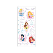 Disney Stickers Packaged-Princess Phrase