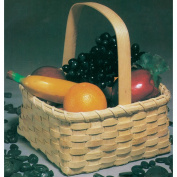 Commonwealth Basket Blue Ridge Basket Kits, Market Basket 25cm by 25cm by 23cm with Handle