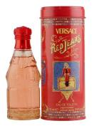 VERSACE 10108071 RED JEANS by VERSACE -  Eau De Toillette   SPRAY