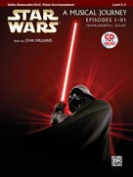 Alfred 00-32125 Star Wars Instrumental Solos for Strings- Movies I-VI - Music Book