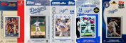 C & I Collectables DODGERS5TS MLB Los Angeles Dodgers 5 Different Licenced Trading Card Team Sets