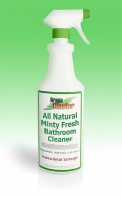 Green Blaster Products GBBSM16S Minty Fresh All Natural Bath & Shower Cleaner 470ml Sprayer