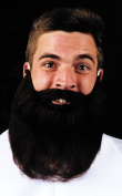 Costumes For All Occasions CB44GY Mustache Beard Grey 8In