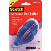 3M 55 Scotch 055 1/3 x 49 Adhesive Dot Roller