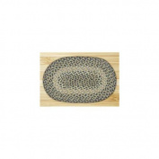 Capitol Importing 00-005 Blue-Natural - 10 in. x 15 in. Oval Swatch
