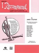 Alfred Publishing 00-EL02573 I Recommend - Music Book