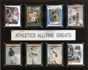 C & I Collectables 1215ATGOAKAS MLB Oakland As All-Time Greats Plaque