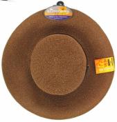 Sloggers Size 1 Dark Brown Wide Brim Braided Hat 442DB01