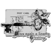 Stampendous 120699 Stampendous Christmas Cling Rubber Stamp-Key Note