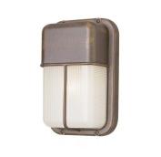 Trans Globe Lighting 41103 RT 25cm 1-Light Outdoor Bulkhead, Rust