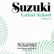 Alfred 00-0471 Suzuki Guitar School CD- Volume 2 - Music Book