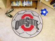 FanMats Ohio State University Soccer Ball Mat F0001518
