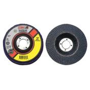 CGW Abrasives 421-31012 4-1-2X7-8 Zs-40 T27 Regstainless Flap Disc