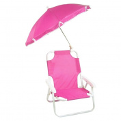 Redmon 9001HPK Hot Pink Beach Baby Chair W-Umbrella