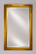 Afina Corporation EC13-2026-GD 20 in.x 26 in.Estate Framed Wall Mirror - Antique Gold