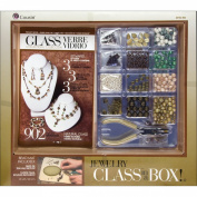 Cousin Jewellery Class in a Box Kit, Naturals Glass
