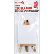Reeves Mini Canvas and Easel, 6.4cm x 7cm
