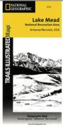National Geographic TI00000204 Map Of Lake Mead National Recreation Area - Nevada - Arizona