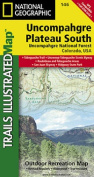 National Geographic Maps TI00000146 Uncompahgre Plateau South Map