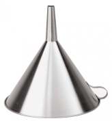 Paderno World Cuisine Stainless Steel Funnel - 16cm Dia