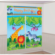 Jungle Animals Decorating Kit, Blue
