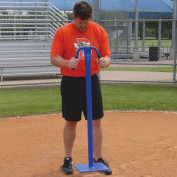 Infield Dirt Tamp with 30cm Square Steel Plate
