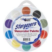 US Artquest Jewelz Watercolour Palette, Stargazers