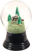 Medium House with Tree Snow Globe