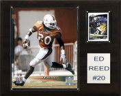 C & I Collectables 1215EDREEDC NCAA Football Ed Reed Miami Hurricanes Player Plaque