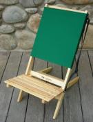 Blue Ridge Chair Works BRCH02WF Blue Ridge Chair - Forest Green