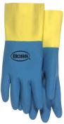 Boss Gloves 36cm . Large Flock Lined Neoprene & Latex Gloves 55L