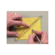 Omnigrid Marking Ruler Trio, 10cm , 15cm , 30cm