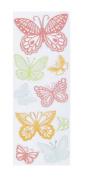 Martha Stewart 480141 Martha Stewart Clear Stamps-Doily Lace Butterflies