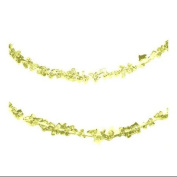 1.2m Gold Glitter Hanging Christmas Ice Rope Garland
