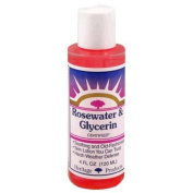 Heritage Store 0412403 Rosewater and Glycerin - 4 fl oz