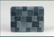 HY-C T2UL2832GT-1C 28 in. x 32 in. Type 2 UL1618 Stove Board - Gray Slate Tile