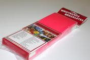 Medtech Wristbands T030010051P0500 500 Supertek .190cm . Solid Neon Pink