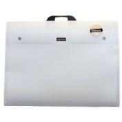 Dekko DK0108 23 in. x 31 in. Polypropylene Folio - Crystal White