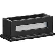 Victor Midnight Black Collection Business Card Holder