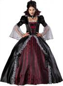 In Character Costumes 198662 Vampiress of Versailles Elite Adult Costume - Black - Large