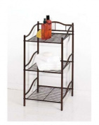 Creative Bath 20061-ORB 3 Shelf Storage Tower - Oil Rubbed Bronze