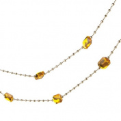 1.8m Regal Gold Jewel and Beaded Christmas Garland